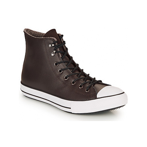 Converse CHUCK TAYLOR ALL STAR WINTER LEATHER BOOT HI women's Shoes (High-top Trainers) in Brown