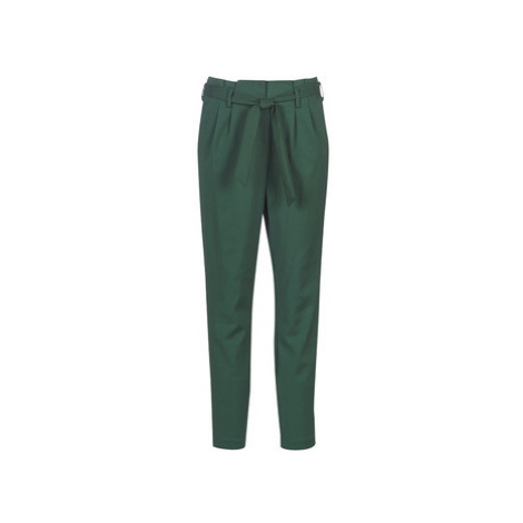 Vila VISOFINA women's Trousers in Green