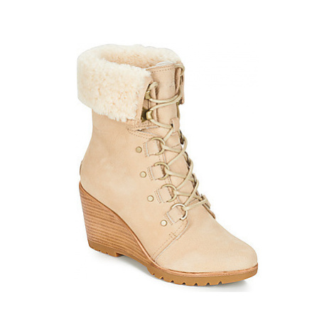 Sorel AFTER HOURS LACE SHEARLING women's Snow boots in Beige
