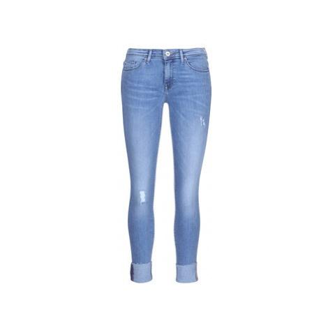 Only CARMEN women's Skinny Jeans in Blue
