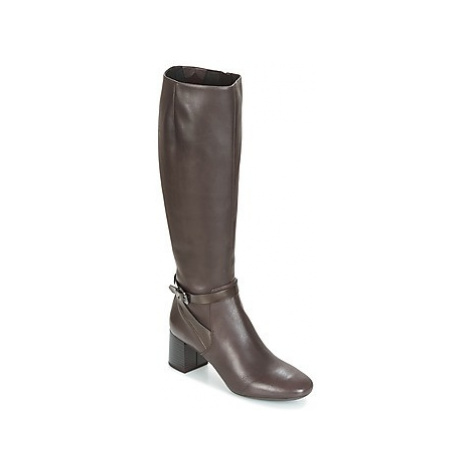 Geox D AUDALIES MID women's High Boots in Brown