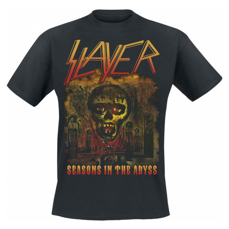 Slayer - Seasons In The Abyss - T-Shirt - black