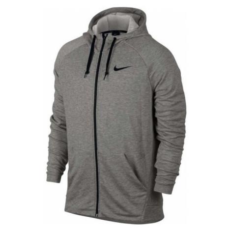 Nike DRY HOODIE FZ FLEECE grey - Men's hoodie