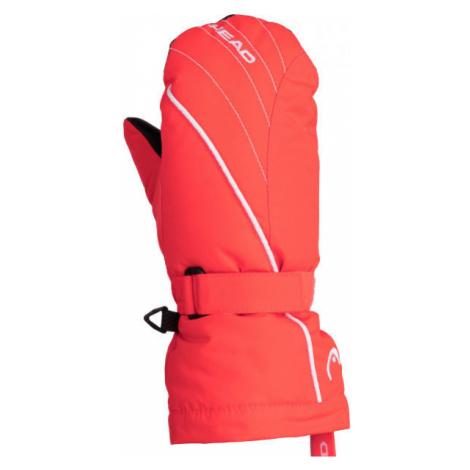 Head CORA orange - Children's winter mittens