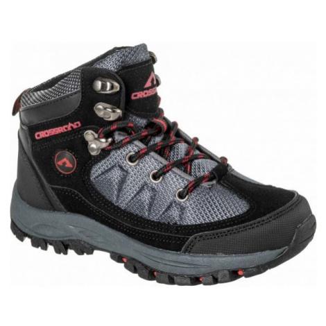 Crossroad DHUS black - Kids' trekking shoes