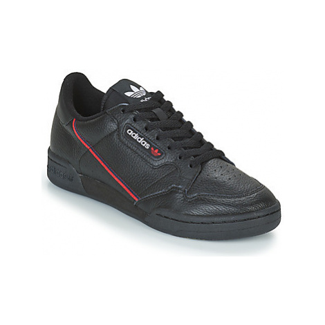 Adidas CONTINENTAL 80 women's Shoes (Trainers) in Black