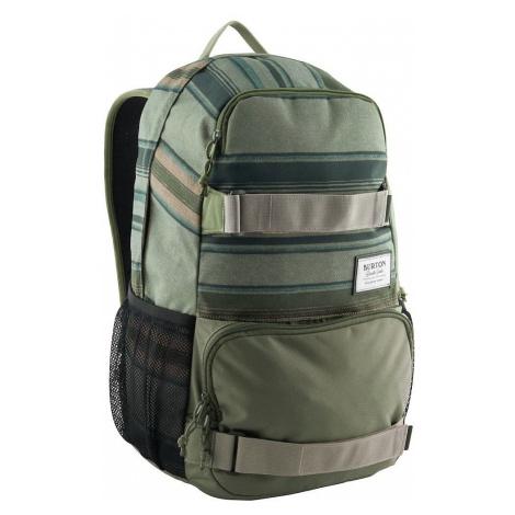 backpack Burton Treble Yell - Tusk Stripe Print