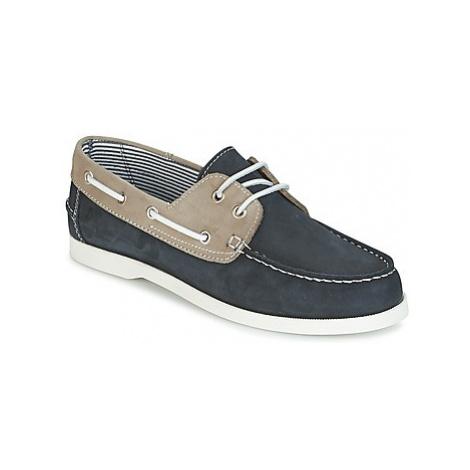 Casual Attitude REVORO men's Boat Shoes in Blue