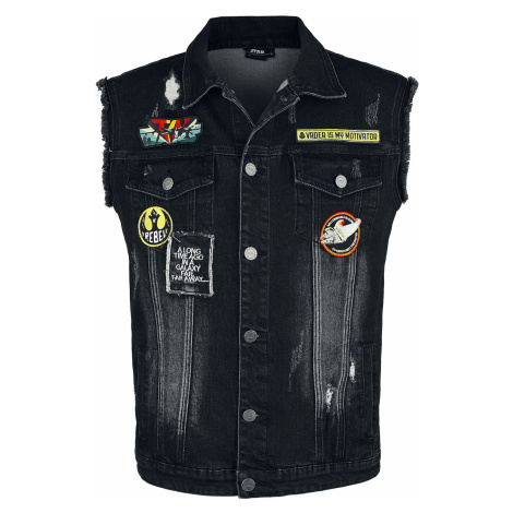 Star Wars - Death Star - Waistcoat - black
