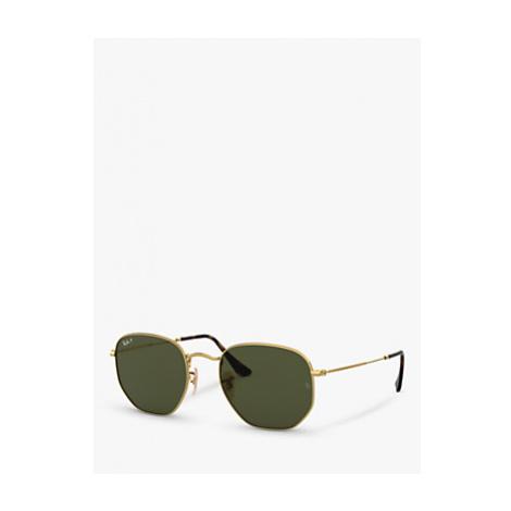 Ray-Ban RB3548N Unisex Polarised Hexagonal Sunglasses