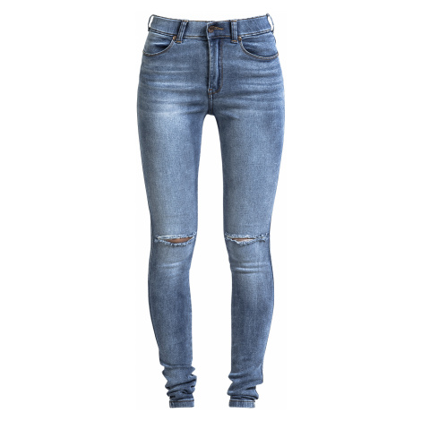 Dr. Denim - Lexy Ripped Knees - Girls jeans - blue