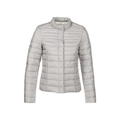Grey women's spring/autumn jackets