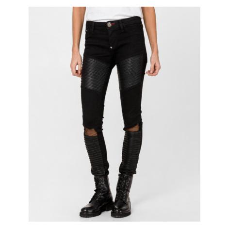 Philipp Plein Chicago Lara Jeans Black