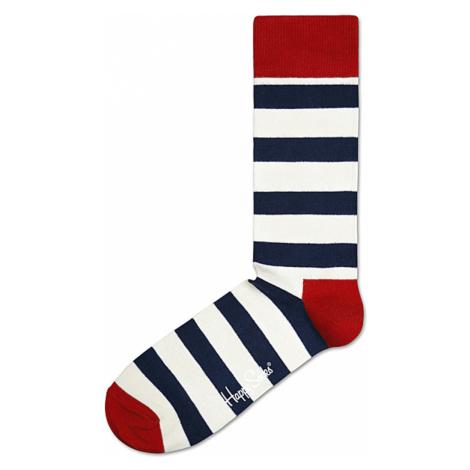 Happy Socks Stripe Socks White