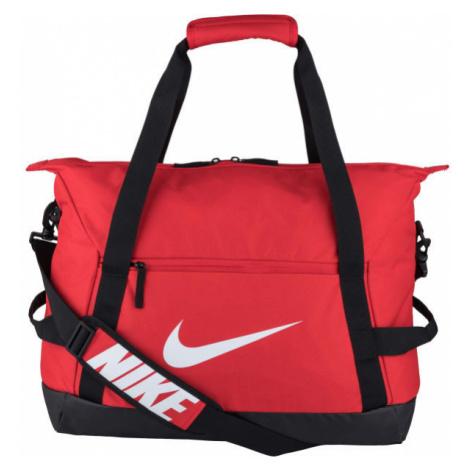 Nike ACADEMY TEAM M DUFF red - Sports bag