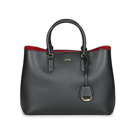 Lauren Ralph Lauren DRYDEN MARCY SATCHEL LARGE women's Handbags in Black