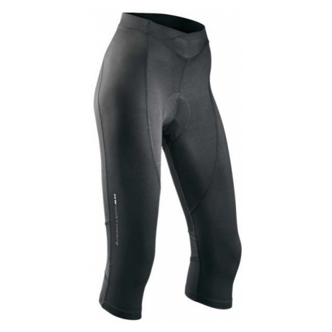 Northwave CRYSTAL KNICKERS W black - Women's 3/4 length cycling pants North Wave
