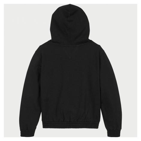 Tommy Hilfiger Girls' Essential Hooded Sweatshirt - Black