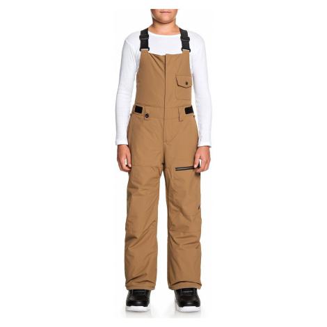 pants Quiksilver Utility Bib - CNQ0/Otter - boy´s