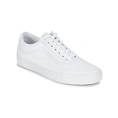 Vans OLD SKOOL women's Shoes (Trainers) in White