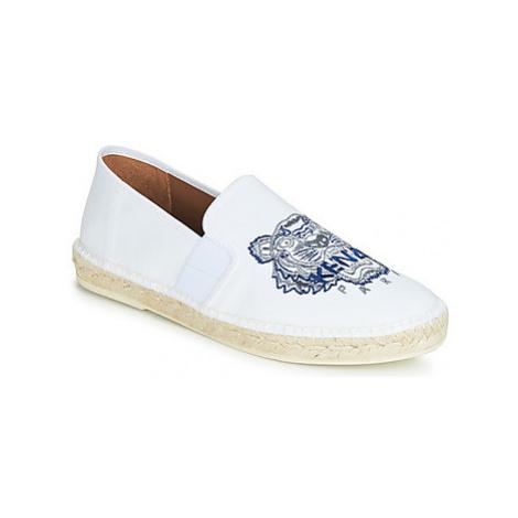 Kenzo ELASTIC ESPADRILLE men's Espadrilles / Casual Shoes in White