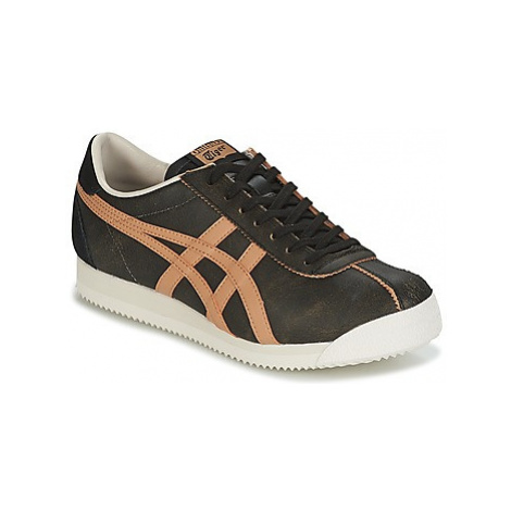 Onitsuka Tiger TIGER CORSAIR LEATHER men's Shoes (Trainers) in Brown