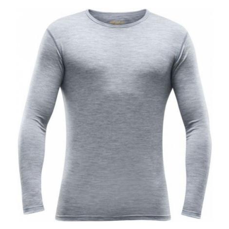 Devold BREEZE MAN SHIRT grey - Men's functional T-shirt