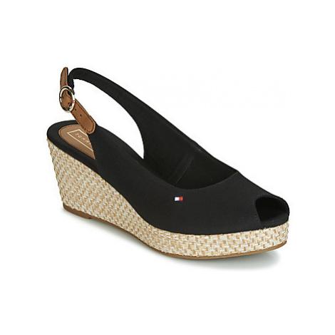 Tommy Hilfiger ICONIC ELBA BASIC SLING BACK women's Sandals in Black