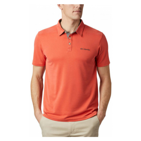 Columbia NELSON POINT POLO red - Men's polo shirt