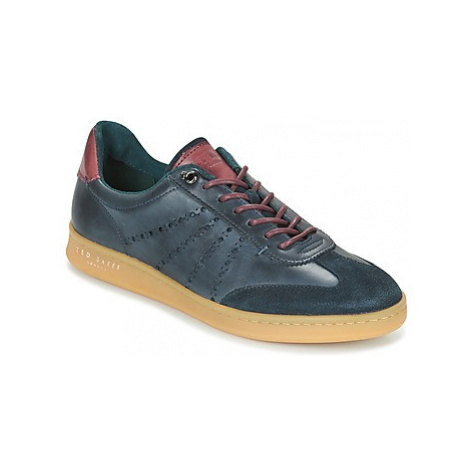 Ted Baker ORLEE men's Shoes (Trainers) in Blue