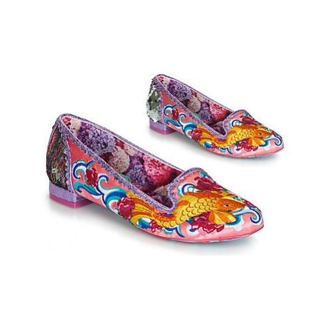 Irregular Choice PESCADO ORO women's Shoes (Pumps / Ballerinas) in Pink