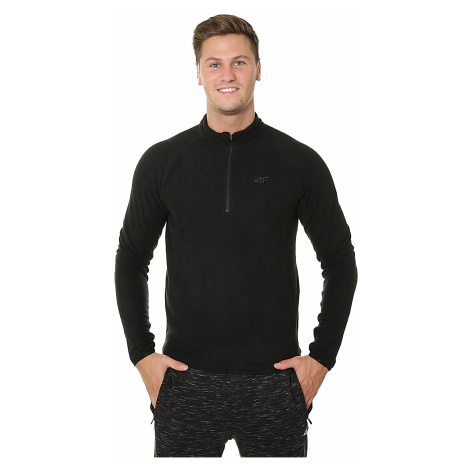 sweatshirt 4F X4Z18-BIMP351 - Deep Black - men´s