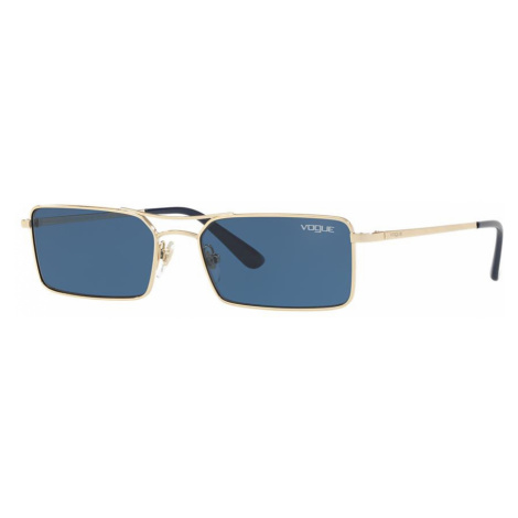 Vogue Eyewear Woman VO4106S Gigi Hadid x Vogue Eyewear - Frame color: Gold, Lens color: Blue, Si