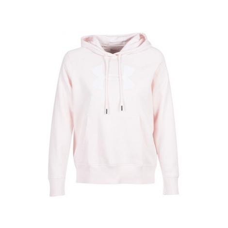 Under Armour RIVAL FLEECE SPORTSTYLE GRAPHIC HOODIE women's Sweatshirt in Pink
