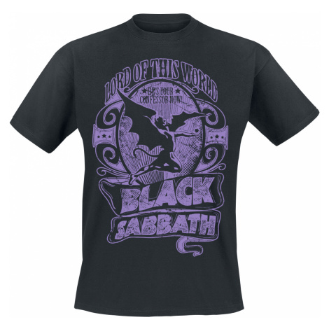 Black Sabbath - Lord Of This World - T-Shirt - black