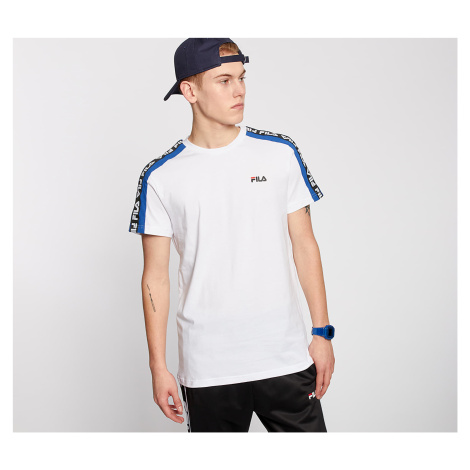 FILA Thanos Tee Bright White/ Surf The Web
