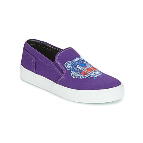 Kenzo K SKATE SNEAKERS women's Slip-ons (Shoes) in Purple
