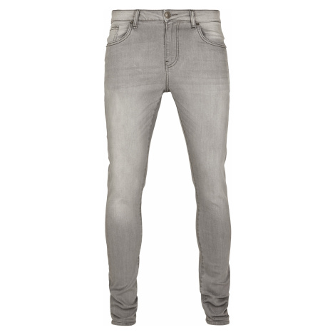 Urban Classics - Slim Fit Jeans - Jeans - grey