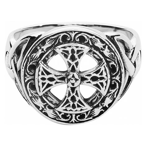 EtNox Magic & Mystic - Silver Celtic Cross - Ring - Standard