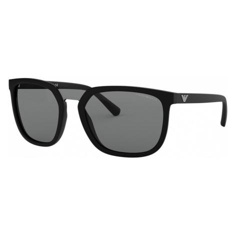 Emporio Armani Man EA4123 - Frame color: Black, Lens color: Grey-Black, Size 58-20/145