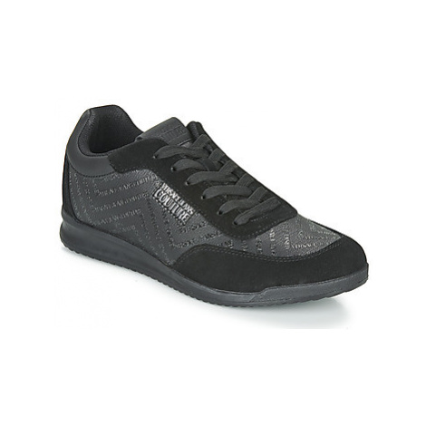 Versace Jeans Couture EOYUBSD2 men's Shoes (Trainers) in Black