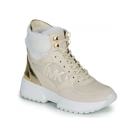MICHAEL Michael Kors BALLARD BOOTIE women's Shoes (High-top Trainers) in White