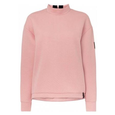 O'Neill LW ARALIA QUILTED CREW light pink - Women's sweatshirt