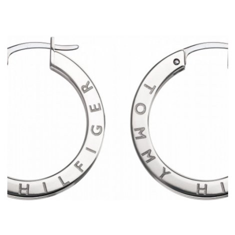 Tommy Hilfiger Thin Earrings with Stones