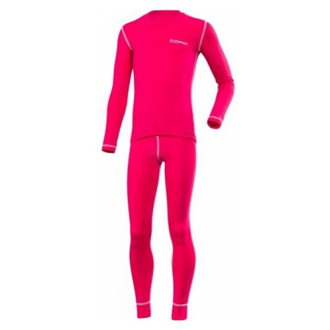 Klimatex ROKI pink - Kids' functional undergarment set