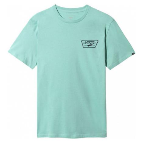 Vans MN FULL PATCH BACK SS blue - Men's T-shirt