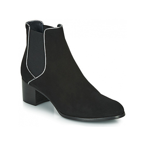 Myma PERLAME women's Low Ankle Boots in Black
