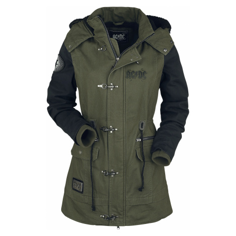 AC/DC - EMP Signature Collection - Girls jacket - olive-black