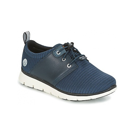 Timberland KILLINGTON OX girls's Children's Shoes (Trainers) in Blue