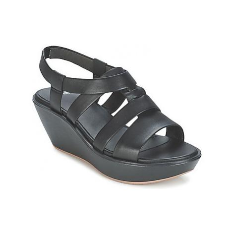 Camper DAMAS women's Sandals in Black